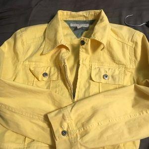 Tommy Hilfiger Jackets & Coats - Yellow denim Tommy Hilfiger jacket